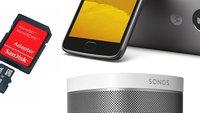 Amazon-Angebote: Sonos Play:1 im Doppelpack, Moto G5, microSD-Karte und mehr