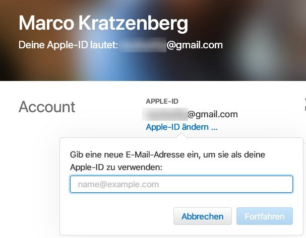 apple-id-aendern