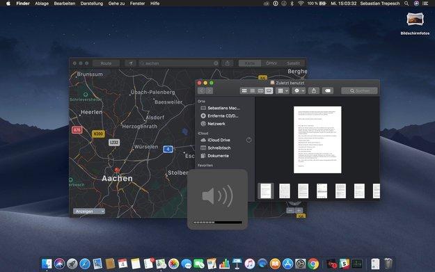 macOS Mojave 10.14.4: Der Dark Mode geht jetzt noch einen Schritt weiter