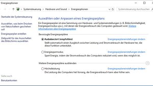 Windows 10: Energieoptionen öffnen & einrichten  – so geht's