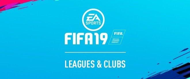 Fifa 19 Lizenzen Mannschaften Ligen Und Teams