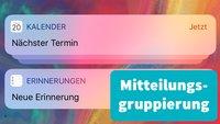 iPhone: Benachrichtigungen gruppieren – so verwaltet ihr Mitteilungen in iOS 12