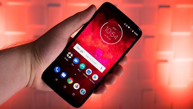 Moto Z4: Neues Lenovo-Smartphone auf erstem Bild zu sehen