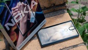 Nokia 8 Sirocco: Das schicke Android-Smartphone in Bildern