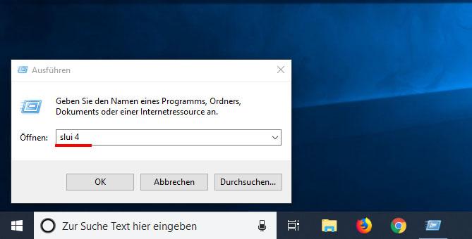 Windows 10 Telefonisch Aktivieren