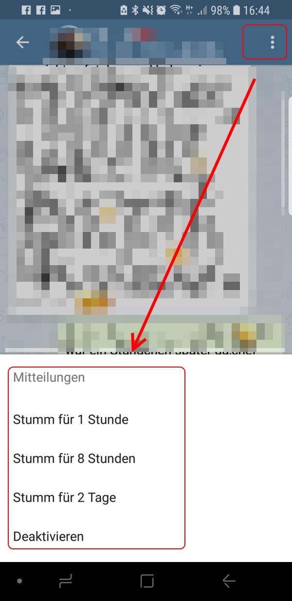 Telegram Blockieren