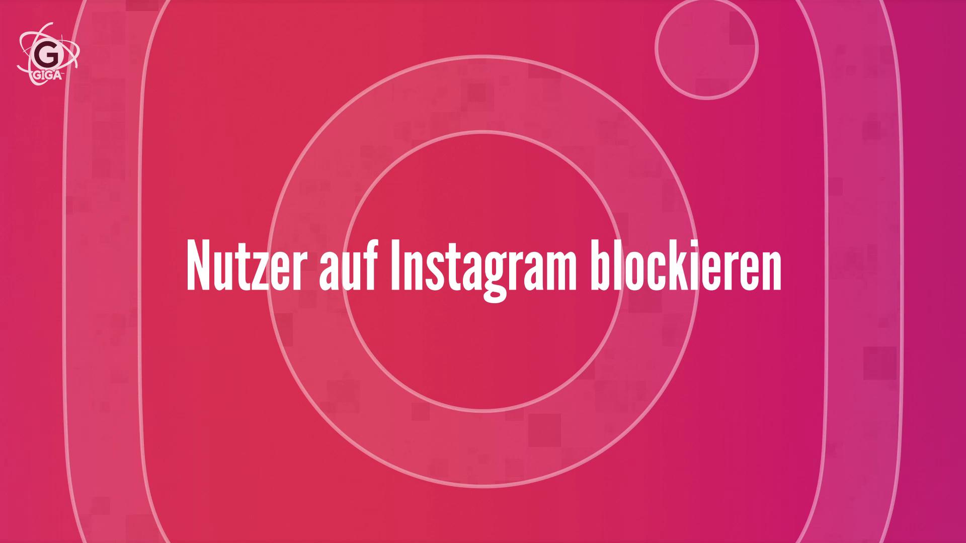 instagram entblocken
