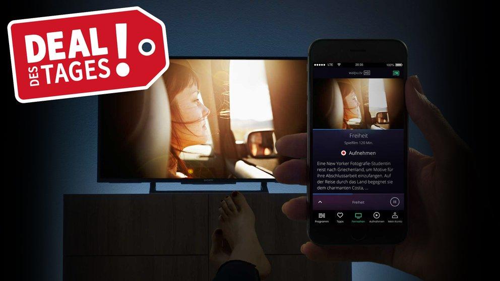 waipu.tv 3 Monate zum Preis von einem + 15 € Rabatt auf Fire TV Stick