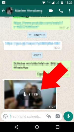 whatsapp kann mediendatei nicht