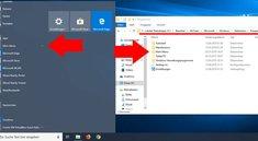 In welchem Ordner speichert Windows 10 die Startmenü-Verknüpfungen?