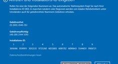 Windows 10 telefonisch aktivieren – so geht's