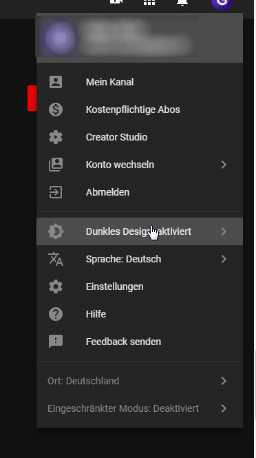 YouTube Dark-Mode: So aktiviert man den Nachtmodus (Update: Jetzt