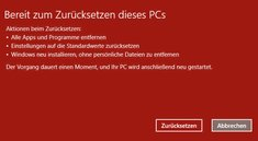 Fehler: Windows 10 lässt sich nicht zurücksetzen – so geht's trotzdem