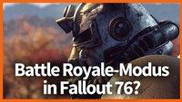 Fallout 76: Entwickler schließt Battle Royale-Modus nicht aus