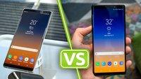 Galaxy Note 8 oder Note 9: Welches Samsung-Smartphone soll ich kaufen?