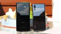 Samsung Galaxy Note 9 vs. Huawei P20 Pro: Vergleich der Smartphone-Superstars
