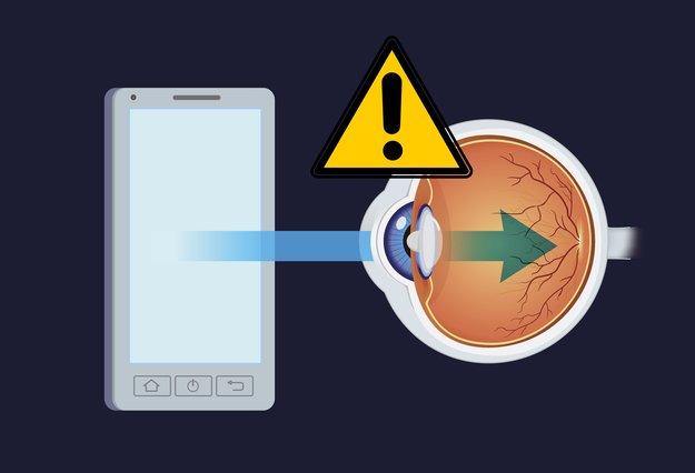 Smartphones zerstören die Augen – aber diese Tricks helfen
