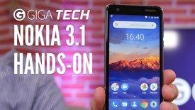 Nokia 3.1 im Hands-On