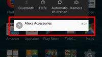 """Alexa Accessories"" ausblenden – so geht's"
