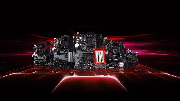 Für günstige Ryzen-PCs: AMDs neue B450-Mainboards sind da