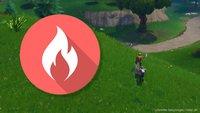 Fortnite: Brennende Ringe finden und springen (Season 6)