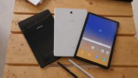 Samsung Galaxy Tab S4 im Hands-On-Video: Das bessere iPad Pro?