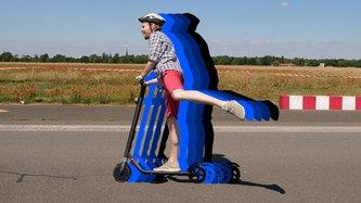 E-Roller von Segway im Test: Der KickScooter ES1 ist ein Gokart auf zwei Rädern