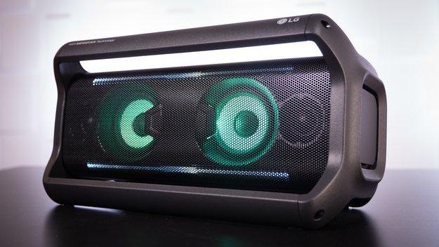 LG PK7 im Test: Bluetooth-Lautsprecher mit Licht-Show und markantem Design