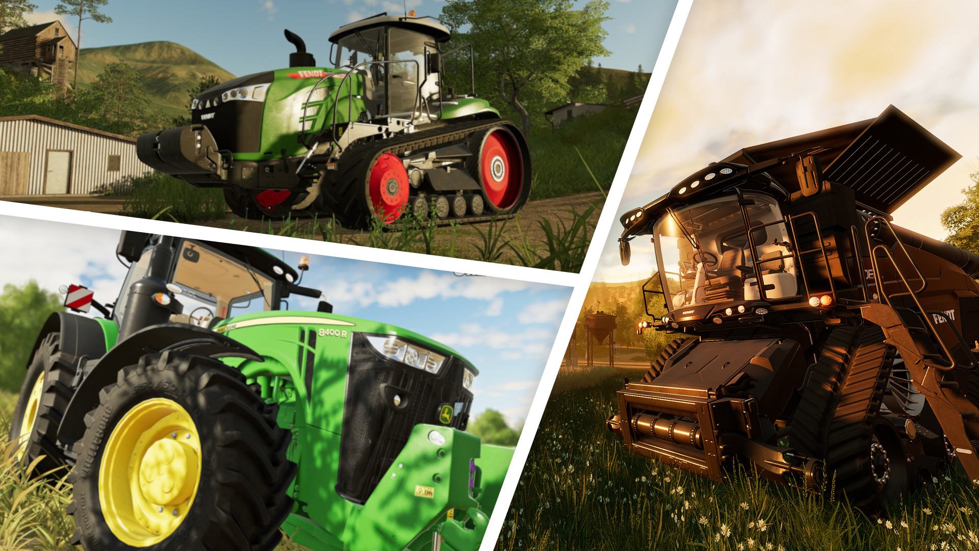 Landwirtschafts-Simulator 19: Fahrzeuge, Maschinen und Liste