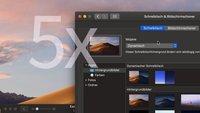 macOS Mojave: 5 Dinge, die man wissen sollte