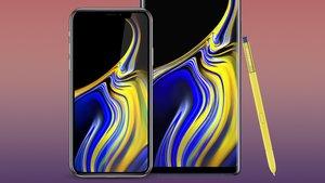Wallpaper des Samsung Galaxy Note 9: Hintergründe für Android und iPhone zum Download