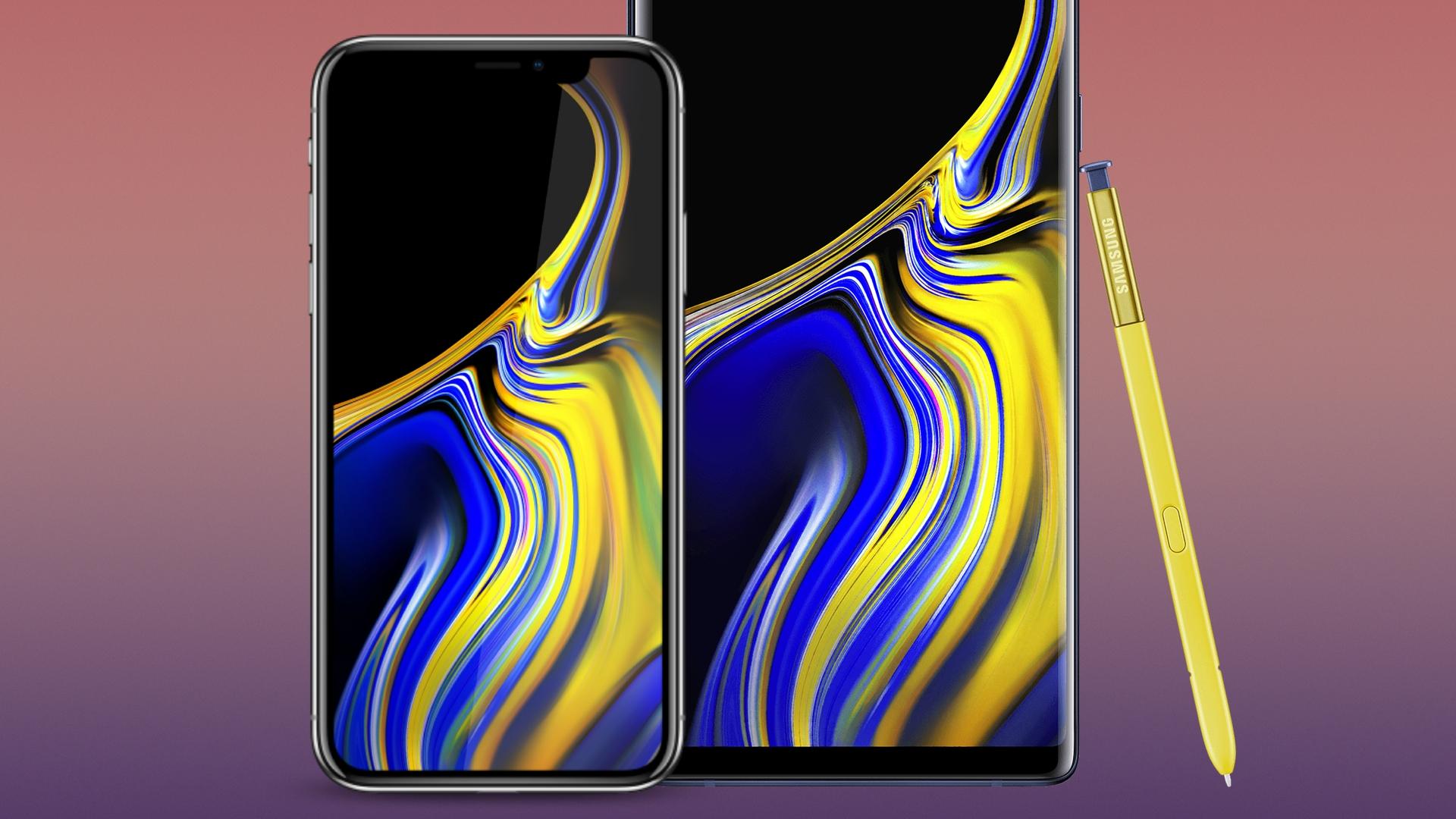 Wallpaper Des Samsung Galaxy Note 9 Hintergrunde Fur Android Und