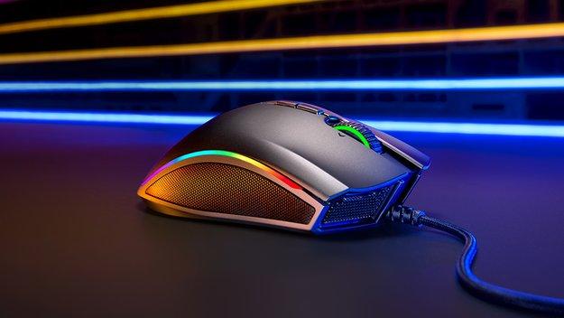 Razer Mamba Elite: Leichte Gaming-Maus mit RGB-Beleuchtung
