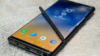 Samsung Galaxy Note 9: Preis, Release, technische Daten, Video und Bilder