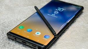 Bestes Smartphone-Display aller Zeiten: Samsung Galaxy Note 9 bricht alle Rekorde