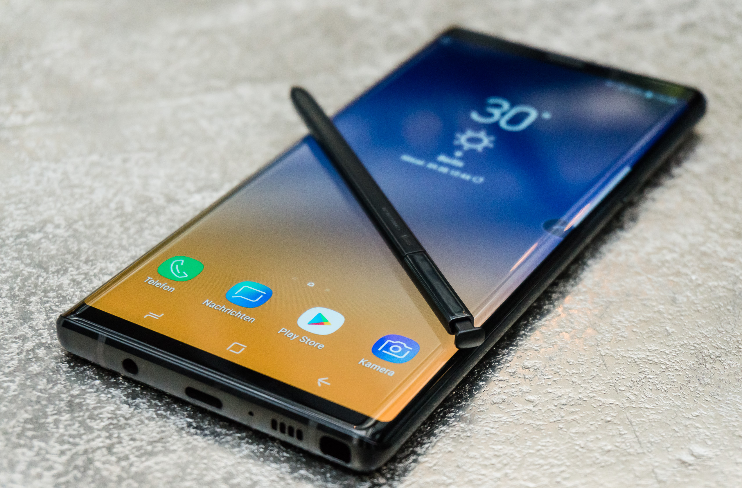 samsung galaxy note 9 im test ultimatives handy mit einer. Black Bedroom Furniture Sets. Home Design Ideas