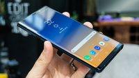 Samsung Galaxy Note 9: Härtetest deckt ungewöhnliche Schwäche auf
