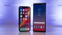 Wegen iPhone XS? Samsungs faltbare Handy-Revolution Galaxy X mit unerwarteter Neuausrichtung