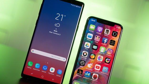 Zu schwach? Selbst das iPhone X ist stärker als die Android-Smartphones für 2019