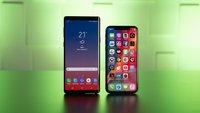 Samsung Galaxy Note 9 vs. iPhone X: Die Smartphone-Schlachtschiffe im ultimativen Vergleich