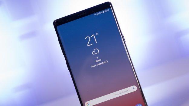 Galaxy Note 9: Samsung behebt die größte Schwäche des Smartphones
