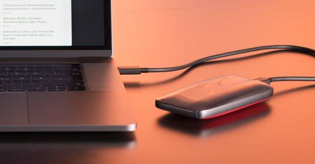 Samsung Portable SSD X5 im Test: Einmal husten, schon ist's passiert