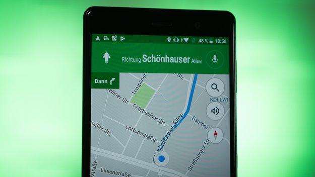 Google Maps: Anzeige der Geschwindigkeit in Deutschland freigeschaltet