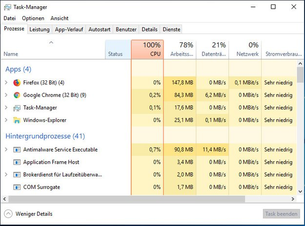 Windows 10: Taskmanager öffnen – Alle 3 Methoden erklärt