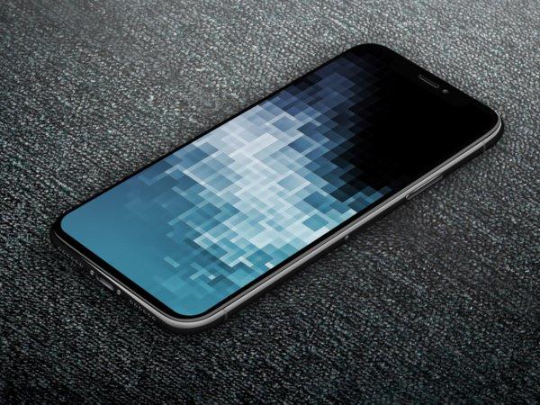 Grauer hintergrund fur iphone