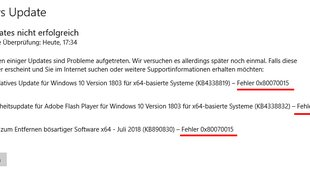 Lösung: 0x80070015-Fehler in Windows 10