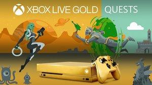 Xbox One X: Microsoft verschenkt eine goldene Konsole