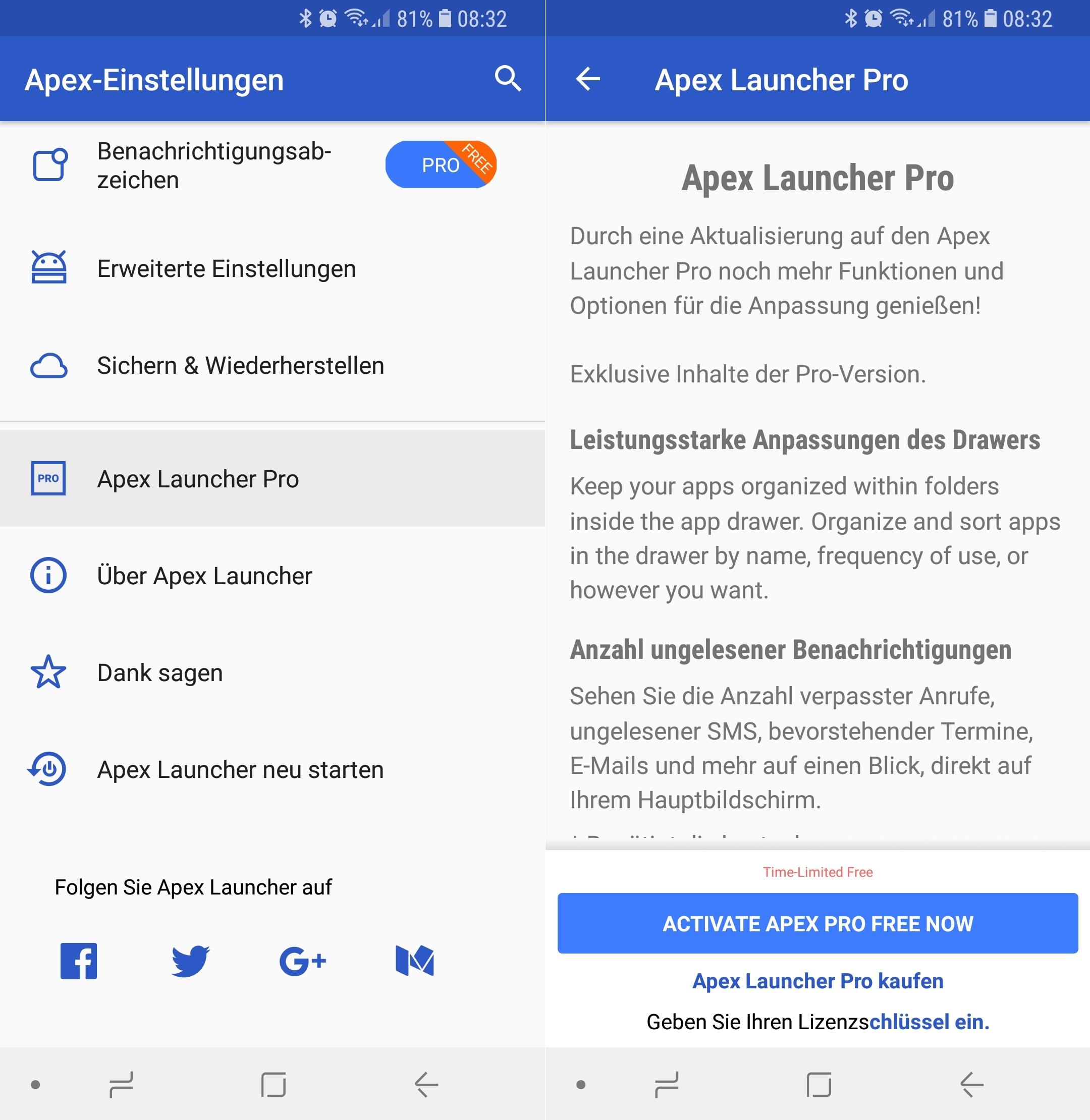 statt 1 99 euro aktuell kostenlos diese android app verwandelt dein smartphone in ein neues. Black Bedroom Furniture Sets. Home Design Ideas