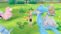 Pokémon Let's Go: Pokémon-Training unterscheidet sich stark von den bisherigen Teilen