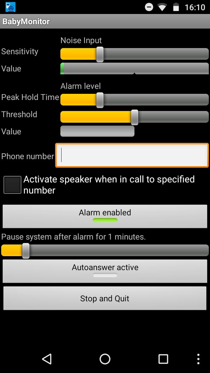 babyphone app anruf